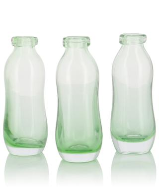 Set of 3 recycled glass vases GARDEN TRADING
