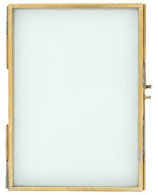 Danta glass and brass photo frame NKUKU