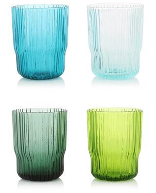 Set von 4 Gläsern Riffle KLEVERING