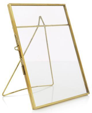 Cadre photo en métal doré Large KLEVERING