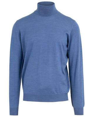 Derby Lana 140's thin turtleneck jumper FEDELI