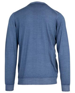 Argentina Lana 140's faded looking round neck jumper FEDELI