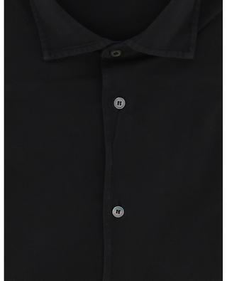Hemd aus Bio-Baumwollpiqué Steve FEDELI