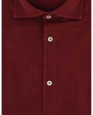 Steve organic cotton piqué shirt FEDELI
