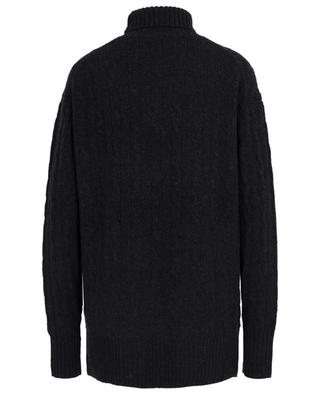 Wool and cashmere cable knit turtleneck jumper POLO RALPH LAUREN