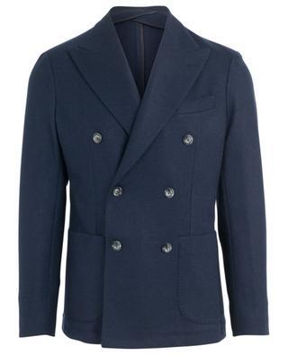 Dandy double-breasted cashmere blazer FEDELI