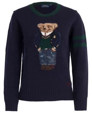 Polo Bear intarsia embroidered jumper POLO RALPH LAUREN