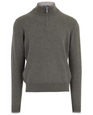 Cashmere jumper with stand-up collar FEDELI