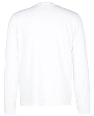 Long-sleeved cotton blend round neck T-shirt MAJESTIC FILATURES