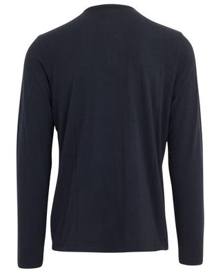 Tunisien long sleeved cotton and cashmere T-shirt MAJESTIC FILATURES
