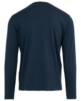 Extreme long-sleeved organic cotton T-shirt FEDELI