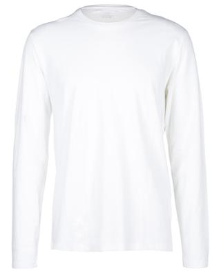 Long-sleeved round neck cotton T-shirt MAJESTIC FILATURES