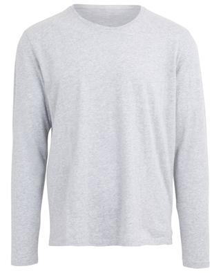 T-shirt col rond à manches longues en coton MAJESTIC FILATURES