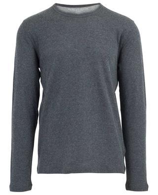 Langärmliges T-Shirt aus Baumwolle und Kaschmir MAJESTIC FILATURES