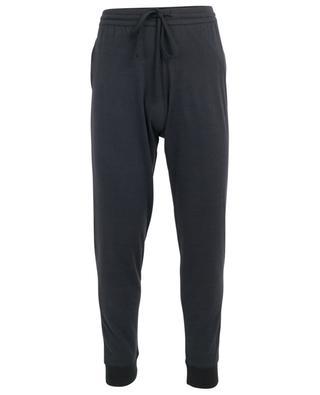 Cotton and cashmere jogging trousers MAJESTIC FILATURES