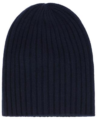 Web rib knit cashmere beanie FEDELI