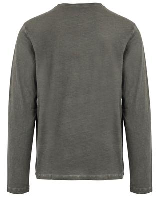 Cotton and cashmere long-sleeved T-shirt MAJESTIC FILATURES