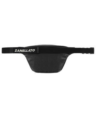 Marsupio Classico crinkle effect leather belt bag ZANELLATO