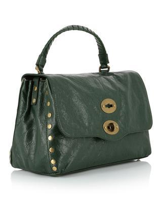Handtasche aus strukturiertem Leder Postina S Linea Lustro ZANELLATO