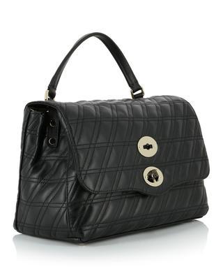 Handtasche aus gestepptem Leder Postina S Linea Zeta ZANELLATO