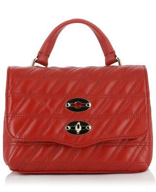 Handtasche aus gestepptem Leder Postina Baby Linea Zeta ZANELLATO