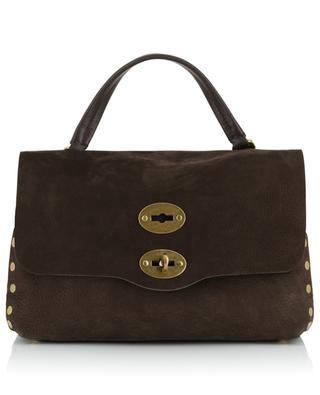 Postina S Linea Jones grained suede handbag ZANELLATO