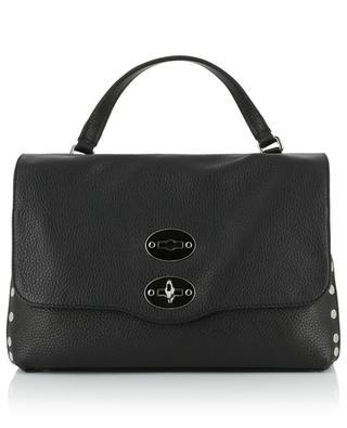 Postina S Linea Daily grained leather handbag ZANELLATO