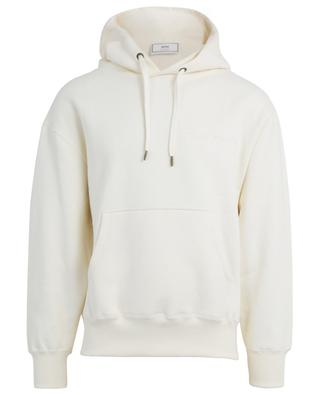 Ami Paris embroidered oversized hoodie AMI