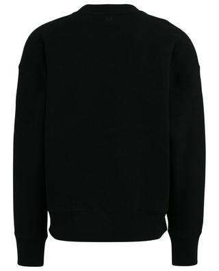 Sweat-shirt oversize détail point de croix Big Ami de Coeur AMI