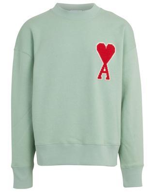 Oversize-Sweatshirt mit Kreuzstich Big Ami de Coeur AMI