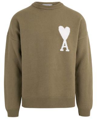 Ami de Coeur oversized jacquard jumper AMI