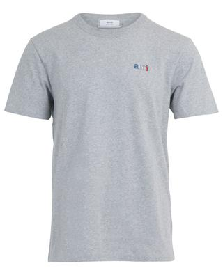 ami embroidered slim fit T-shirt AMI