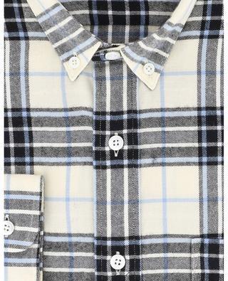 Kariertes Hemd aus Flannel AMI