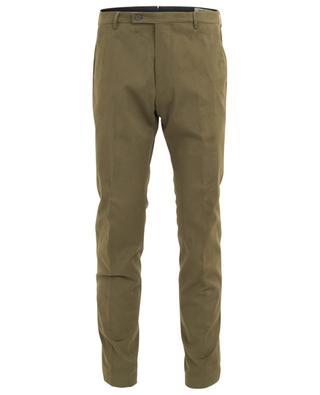 Morello cotton blend chino trousers BERWICH