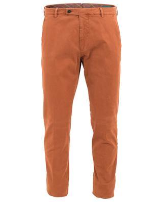 Pantalon chino droit en coton stretch Morello BERWICH
