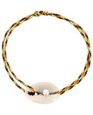 Bracelet sur cordon Coquillage et Perle COQUILLAGE CRUSTACE