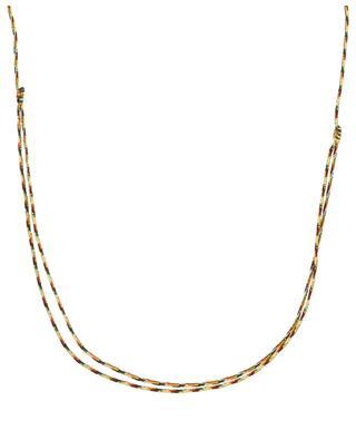 Kordel-Halskette Coquillage Doré et Perle COQUILLAGE CRUSTACE