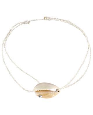 Bracelet sur corde Coquillage et Strass COQUILLAGE CRUSTACE