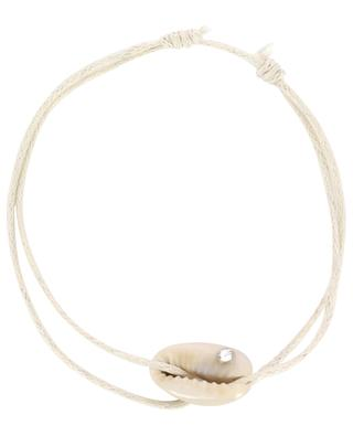 Kordel-Armband Coquillage et Strass COQUILLAGE CRUSTACE
