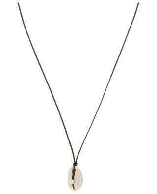 Kordel-Halskette Coquillage et Perle COQUILLAGE CRUSTACE