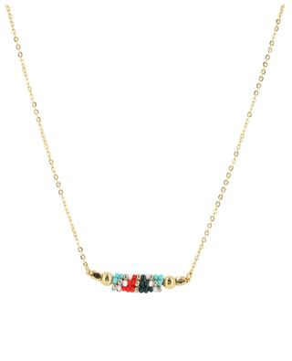 Necklace with woven beads AMAHLE