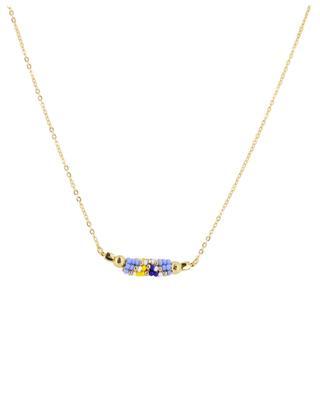 Halskette mit Webperlen AMAHLE