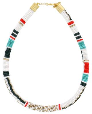 Necklace in woven beads AMAHLE
