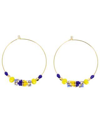 Créoles avec perles tissées AMAHLE