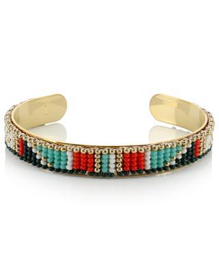 Bangle with woven beads AMAHLE