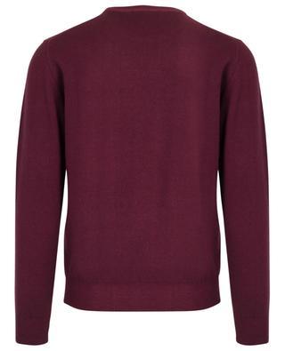Merino wool, silk and cashmere round neck jumper FILIPPO DE LAURENTIIS