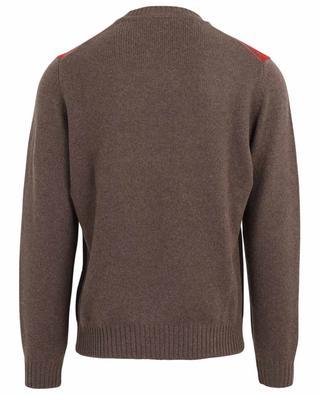 Dicker Pullover aus Wolle und Kaschmir mit Rautenmotiv FILIPPO DE LAURENTIIS