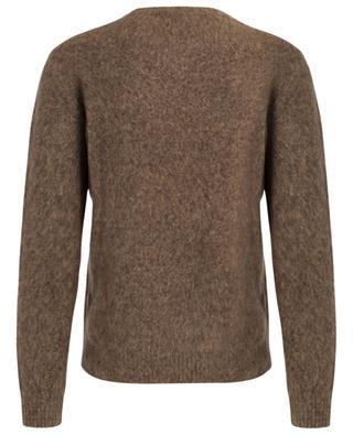 Pull col rond en laine mérinos FILIPPO DE LAURENTIIS