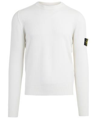 Crew neck jumper with rib knit detail STONE ISLAND