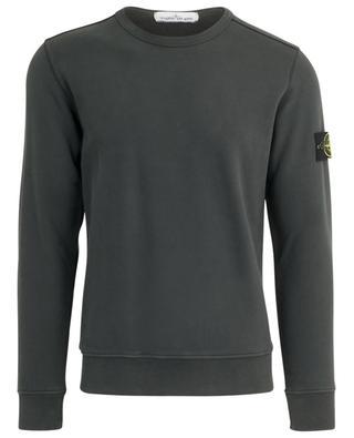 Wind Rose patch soft cotton sweatshirt STONE ISLAND